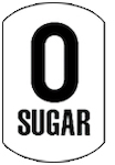 image of a zero sugar icon