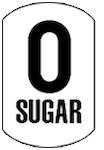 image of a zero sugar icon