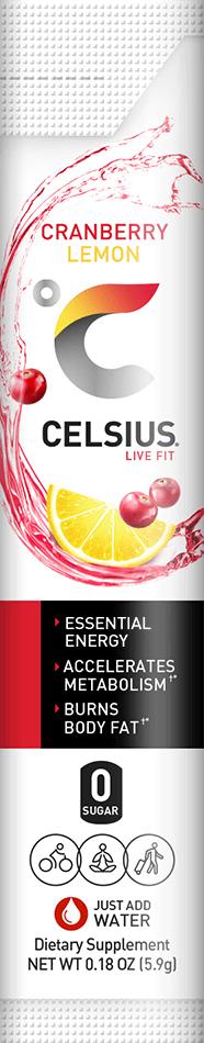 Cranberry Lemon Can Label
